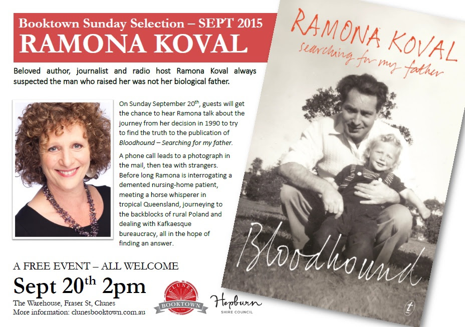 Ramona Koval  -  Booktown Sunday Selection